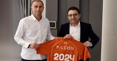 Благоја Милевски промовиран за селектор на македонската А репрезентација