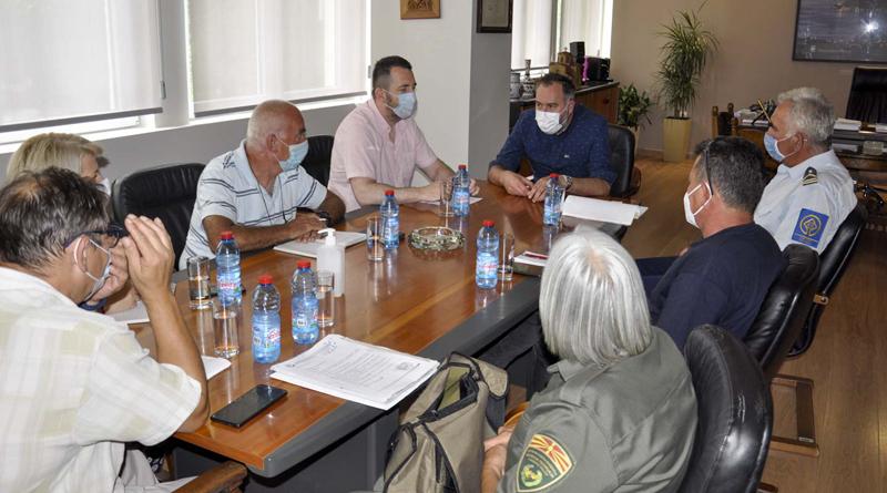 Градоначалникот Георгиески одржа состанок со надлежните институции за превенција од пожари