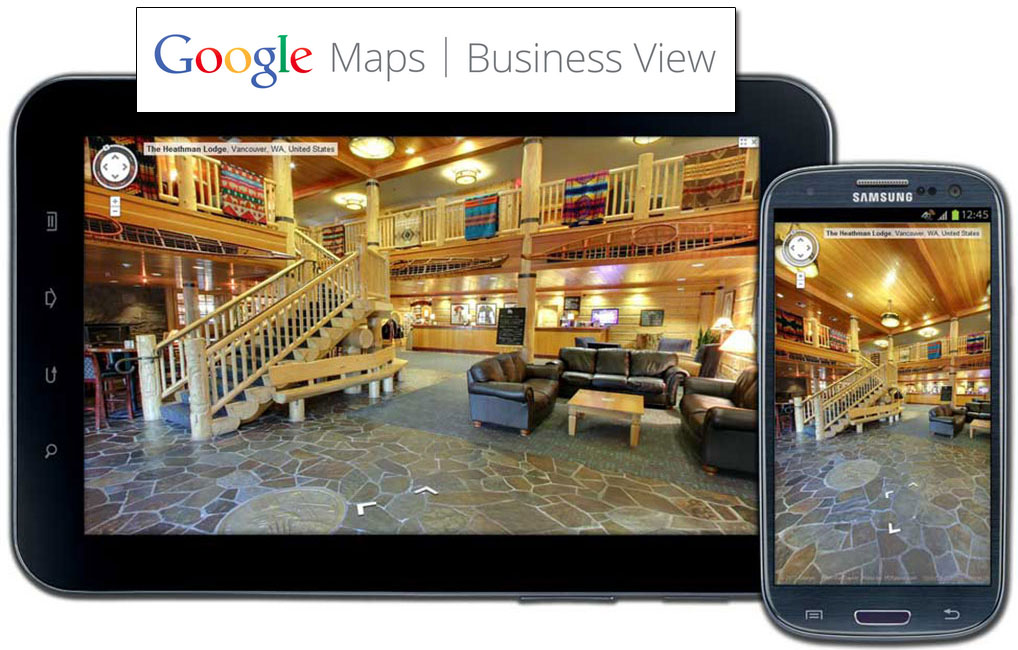 Google Business View integration by Webology Inc