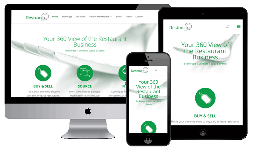 Restaurant Industry Website by Webology Inc