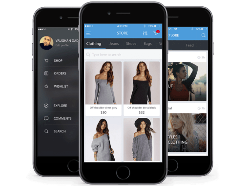 DROPSHOP: E-COMMERCE FASHION APP