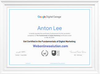 Google Digital Garage Exam Answers
