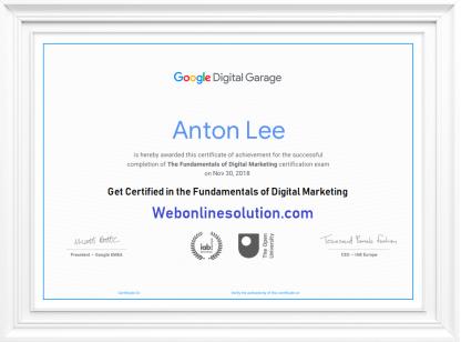 Google Digital Garage Exam Answers
