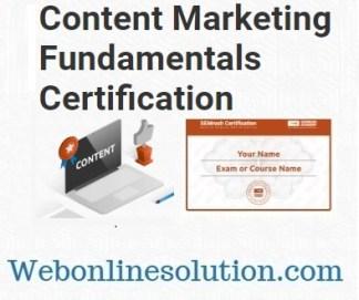 Content Marketing Fundamentals