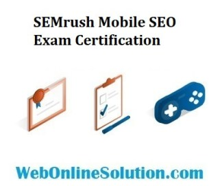 SEMrush Mobile SEO Exam