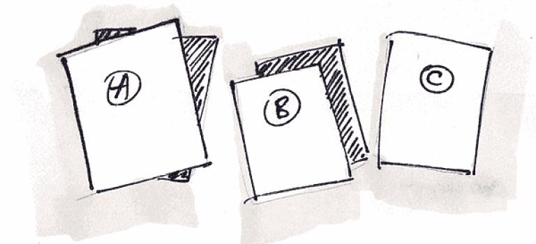 Usability Testing : Card sorting ou Tri de cartes