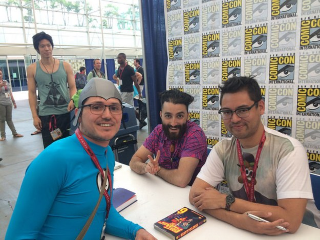 sdcc aquabat and bryan lee o'malley