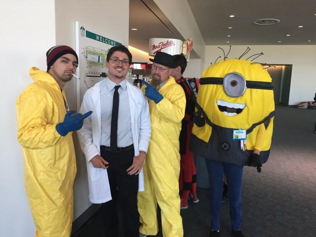 Professor Monty Corndog and Breaking Bad at SDCC 2015