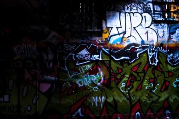 Graffiti at Murphy Ranch