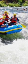Rafting in Idaho