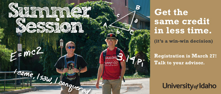 Summer Session Registration Opens Mar 27