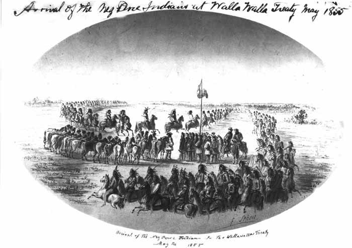 Nez Perce Treaty Council Of 1855