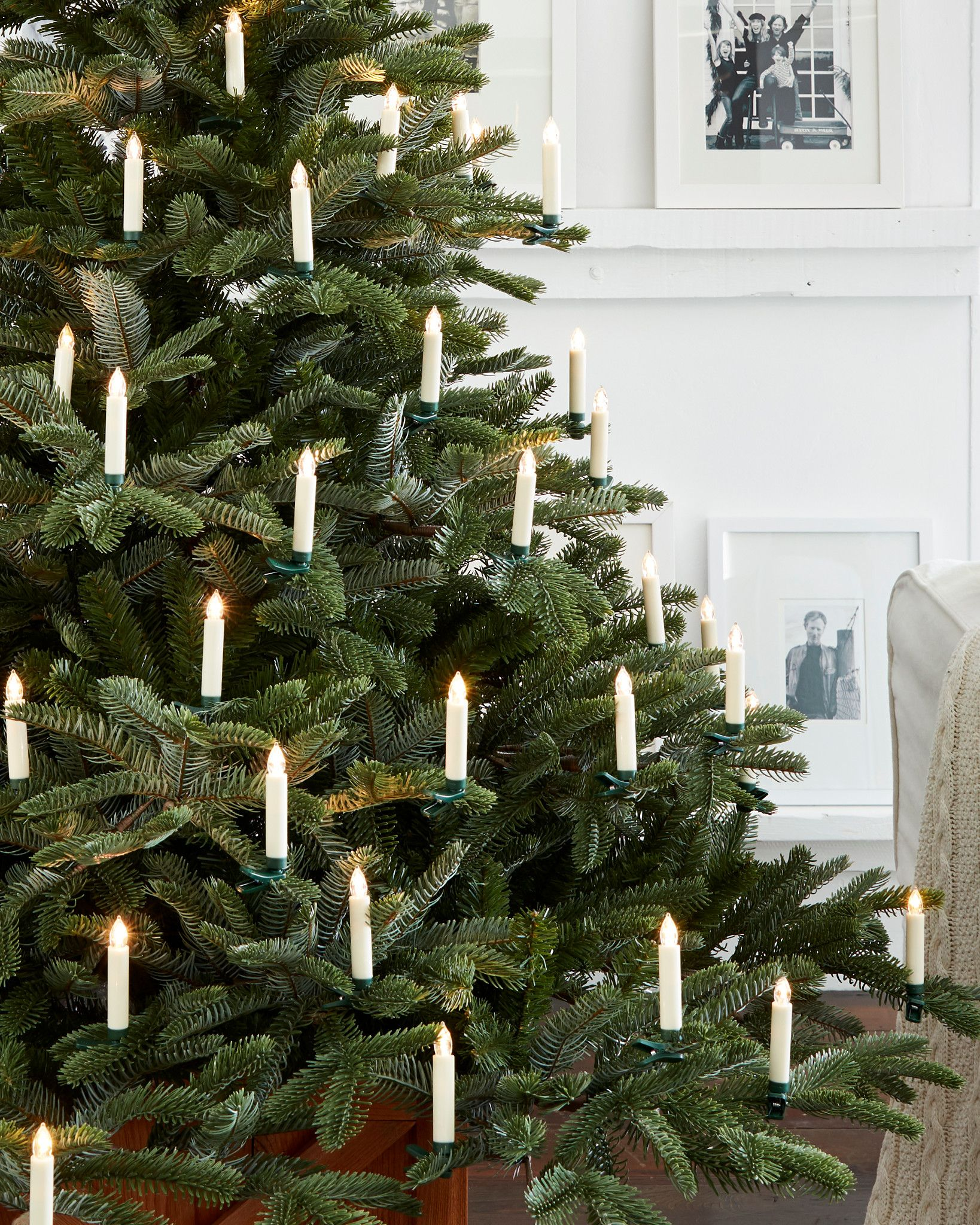 Color Changing LED Christmas Tree Candles Set Of 20