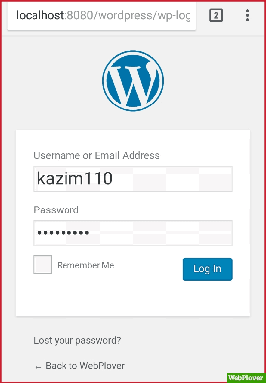Install WordPress On Android