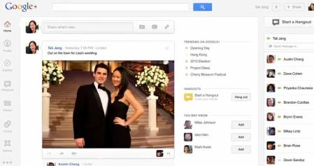 nuevo diseño google plus