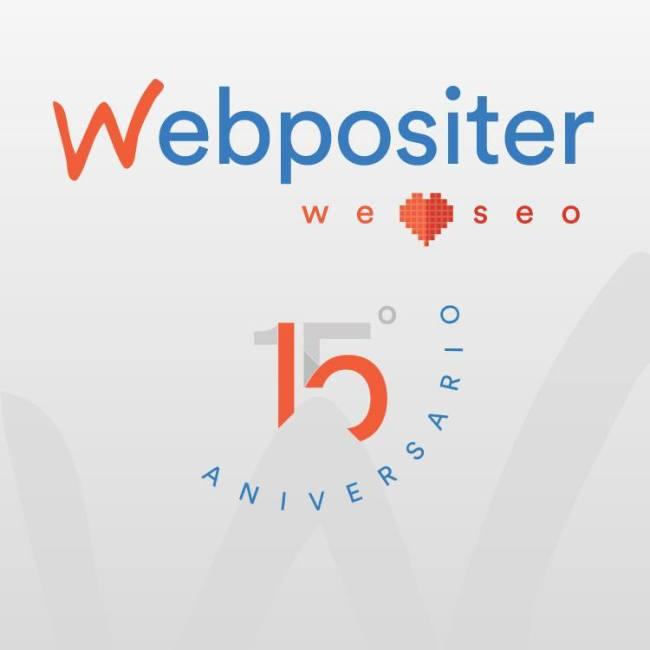 Webpositer 15 aniversario