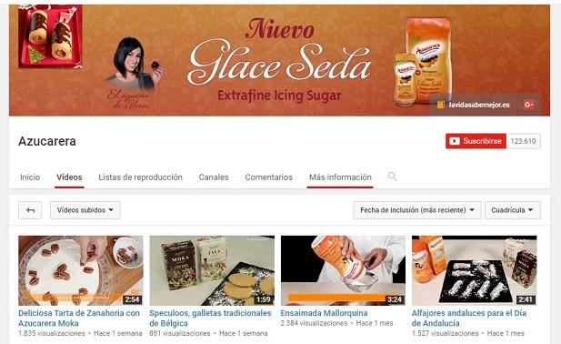 Tiendas online con canal de Youtube
