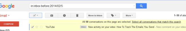 archive gmail messages