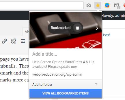 google chrome bookmarks 2