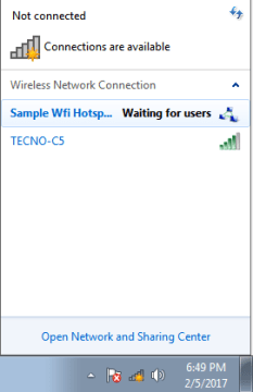 windows 7 wifi hotspot