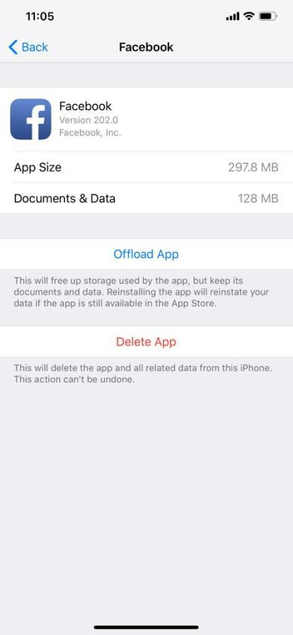 how to clear cache on iPhone 2
