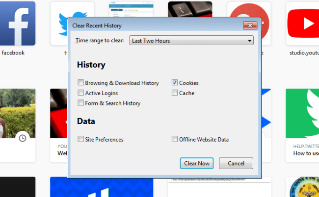 How To Clear Cookies On Firefox
