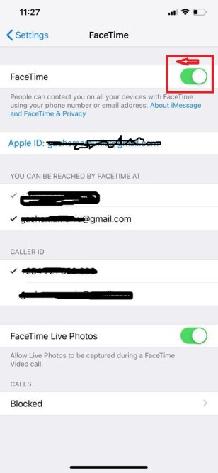 How To Disable FaceTime