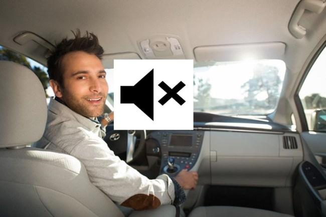mute uber driver