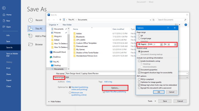 how to delete a page in word 2