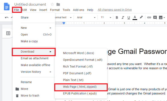 extract images from google docs