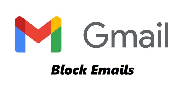 how to block email in gmail