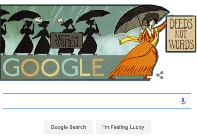 Alice Paul Gets Google Doodle Tribute On 131st Birthday