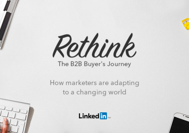 LinkedIn Study Looks At The B2B Buyer's Journey