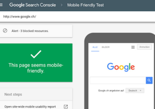 Google Launches Mobile Friendly Testing Tool