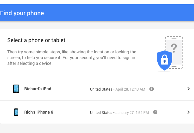 Google Taking on iPhone with New 'Find Your Phone' Tool