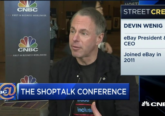 eBay CEO: We're Seeing The End of Retail As We Know It