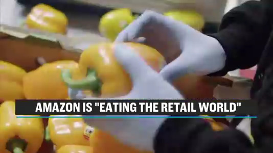 "Latest Chart Shows How Quickly Amazon is ""Eating the Retail World"""