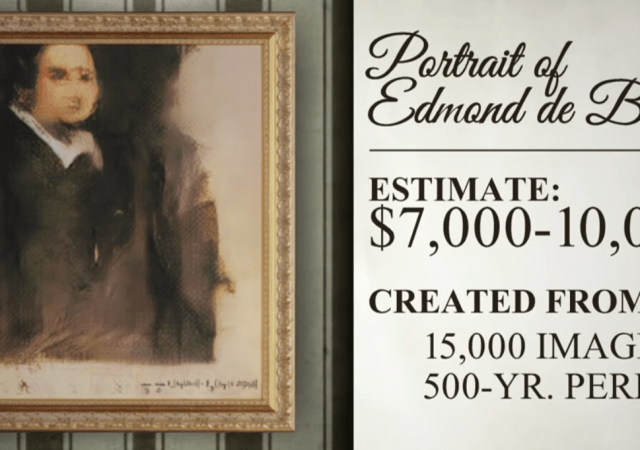 Christie's Says AI Art is Not a Masterpiece, But Good Enough for $10K