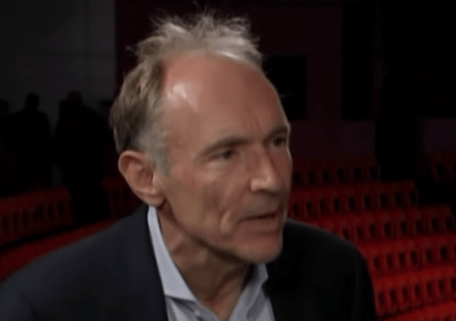 Web Creator Tim Berners-Lee Launches Contract for the Web and Says… Silos Shouldn't Dominate Your Life