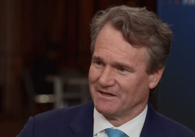 Bank of America CEO: Digitalization Is Not Something That's Coming, It Already Exists