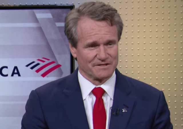 Bank of America CEO Brian Moynihan: Our Efficiency Is Driven By Technology