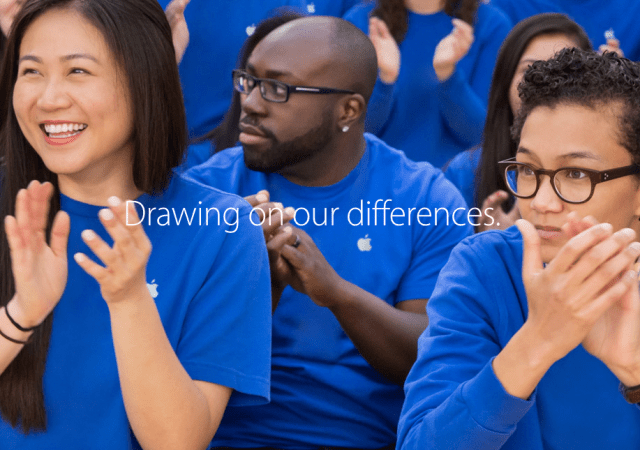 Apple Reveals Modest Improvement in Employee Diversity