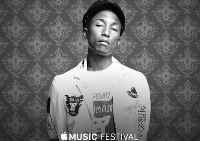 Apple Music Festival Kicks off Sept. 19 with Pharrell, One Direction, Disclosure