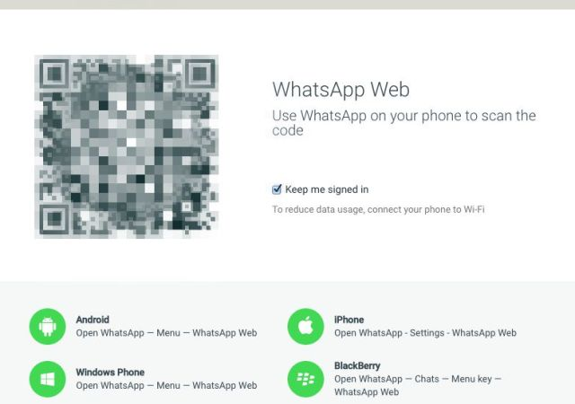 iPhone Users Can Now Use WhatsApp on the Web