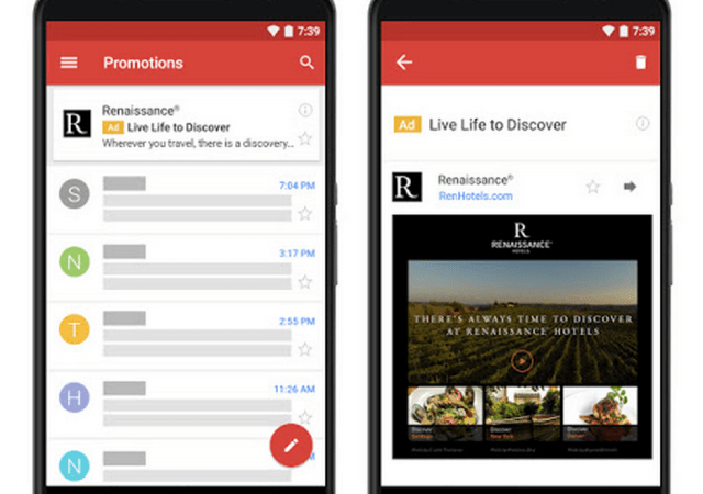Google Offers Native Gmail Ads To All AdWords Advertisers