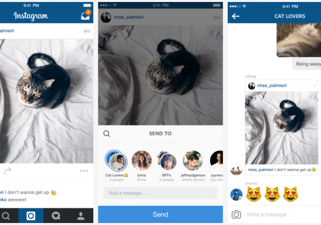 Instagram Direct Gets Some Helpful New Features