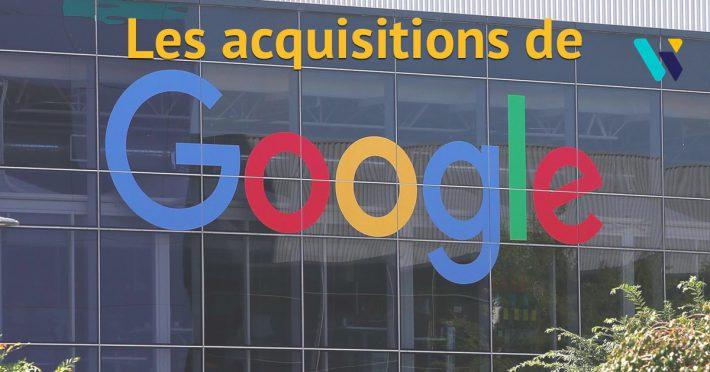 Acquisitions de Google
