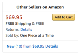 Other Sellers on Amazon