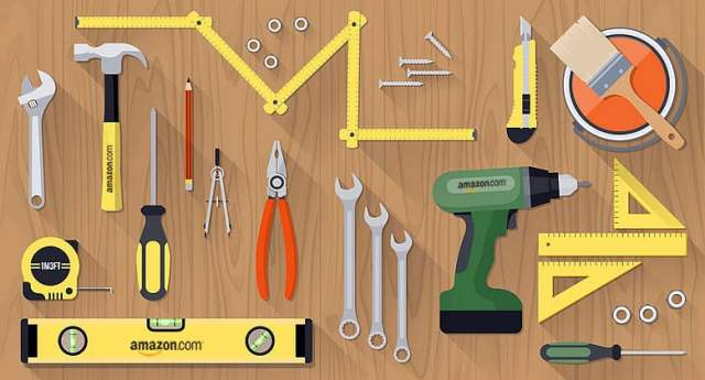 Arrangement of home improvement tools