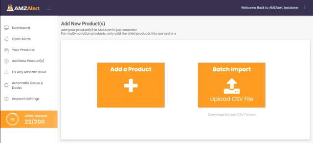 AMZAlert Add New Products